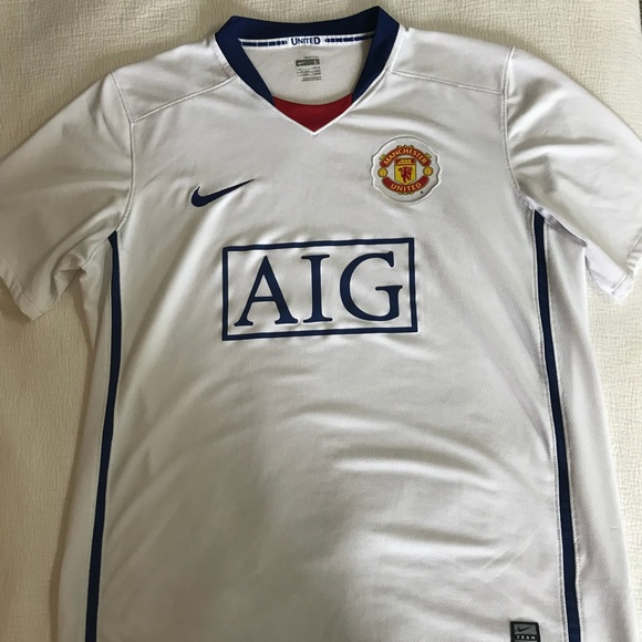 lowest price ed125 4aa43 Nike Manchester United Jersey/Kit White